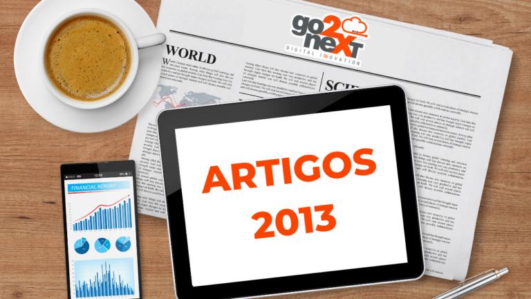 Go2nXt ARTIGOS 2013